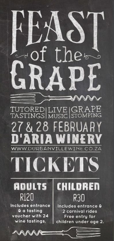 Feast of the Grape @ Durbanville | Cape Town | Western Cape | South Africa