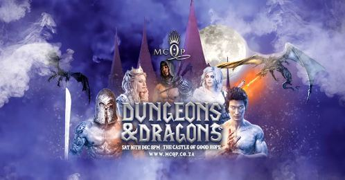 MCQP Presents: Dungeons & Dragons @ Castle of Good Hope | Cape Town | Western Cape | South Africa